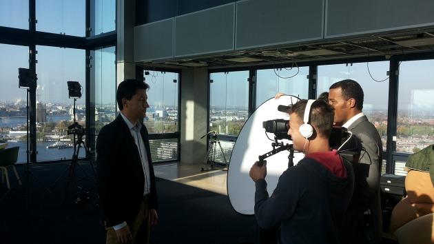 Martijn Hemminga geeft werkgevers tips voor de camera
