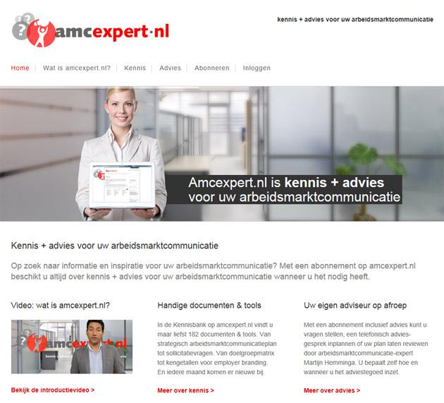 amcexpert.nl: kennis + advies voor uw arbeidsmarktcommunicatie