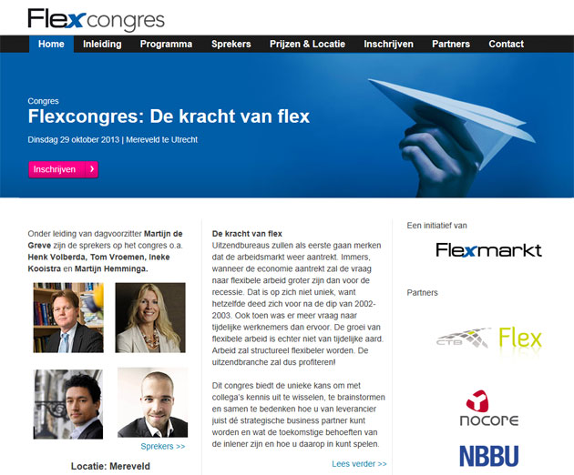 Flexcongres 2013 met Martijn Hemminga